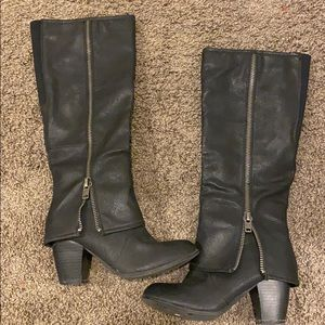Too lapel boots